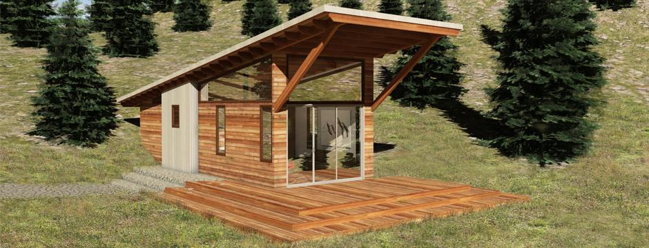 Alpine 3d Media 187 Small Mountain Cabin